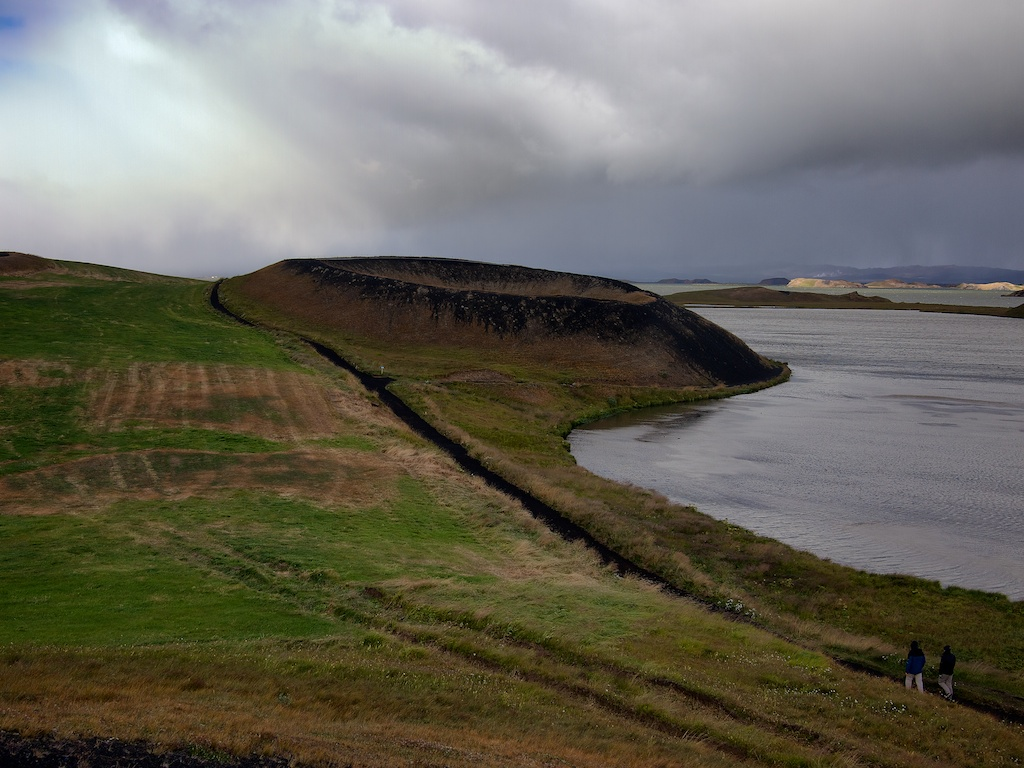 Pseudocrater in Myvatn;Iceland;Travel