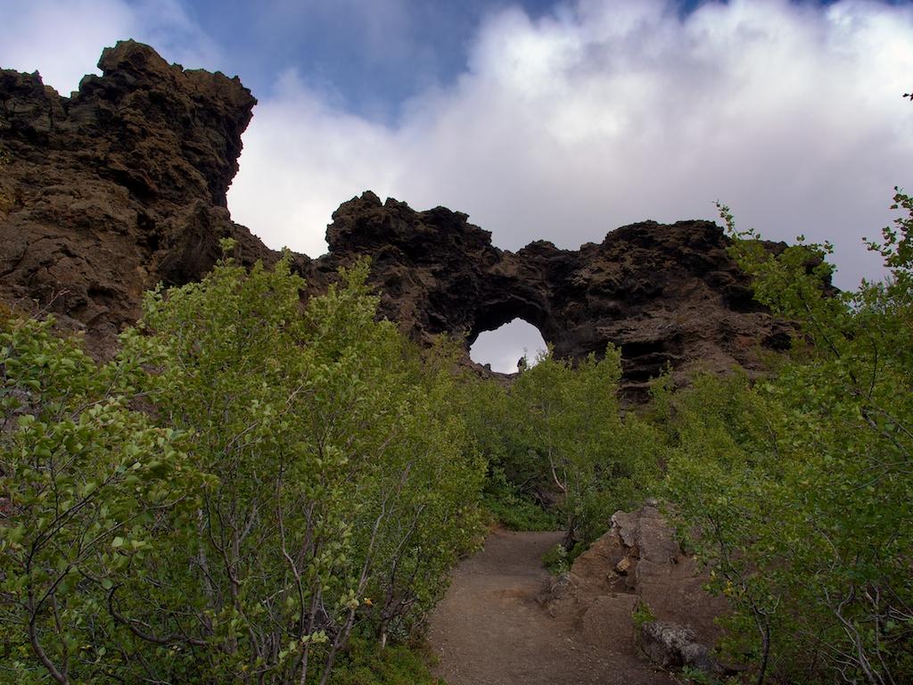 Dimmuborgir;Iceland;Travel