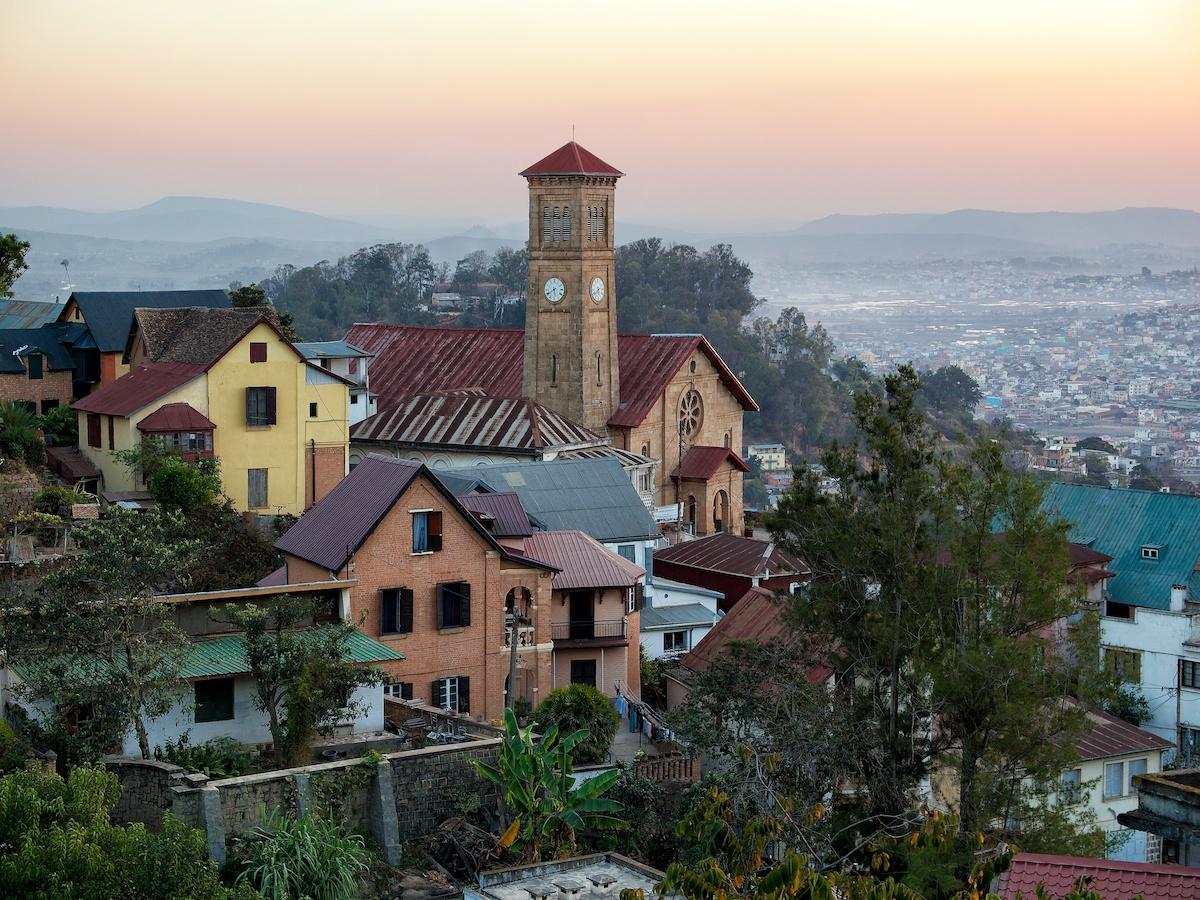 Arriving in Antananarivo