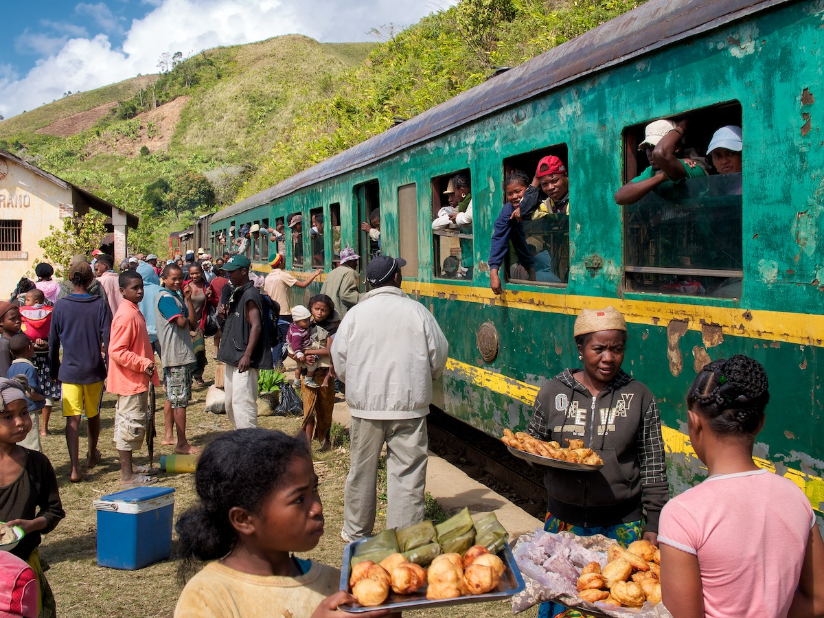 Fianarantsoa to Manakara by train