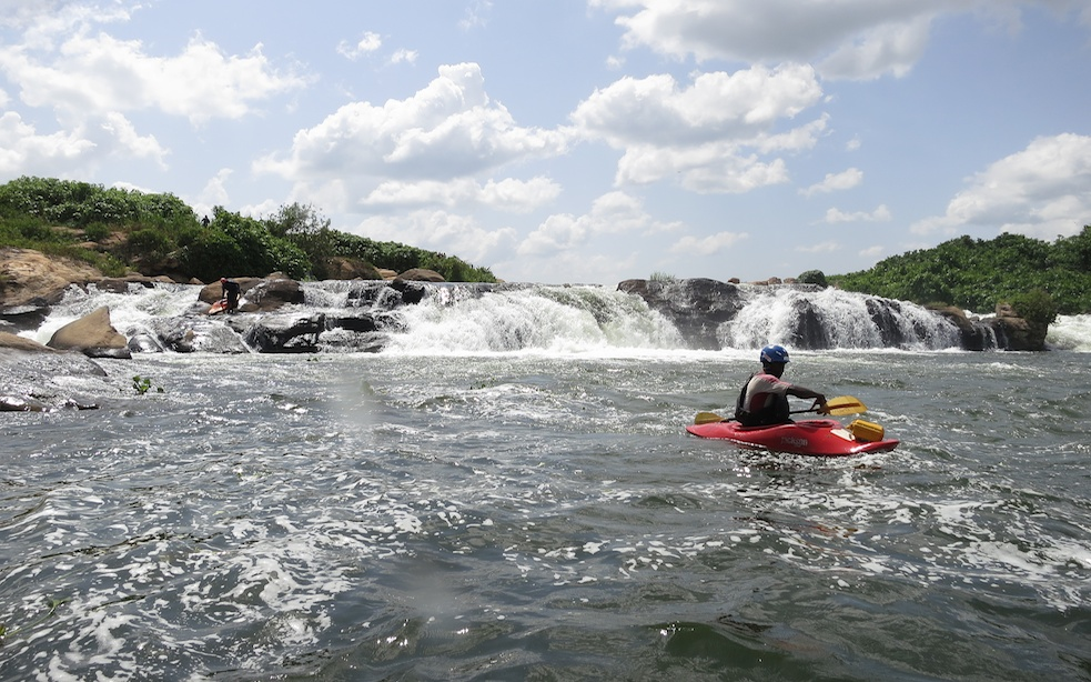 The first rapid;16x9;Africa;Nile;rafting;Travel;Uganda