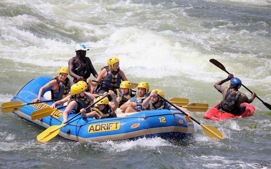Getting tough;ηλιας;Εlen;16x9;Africa;Nile;rafting;Travel;Uganda