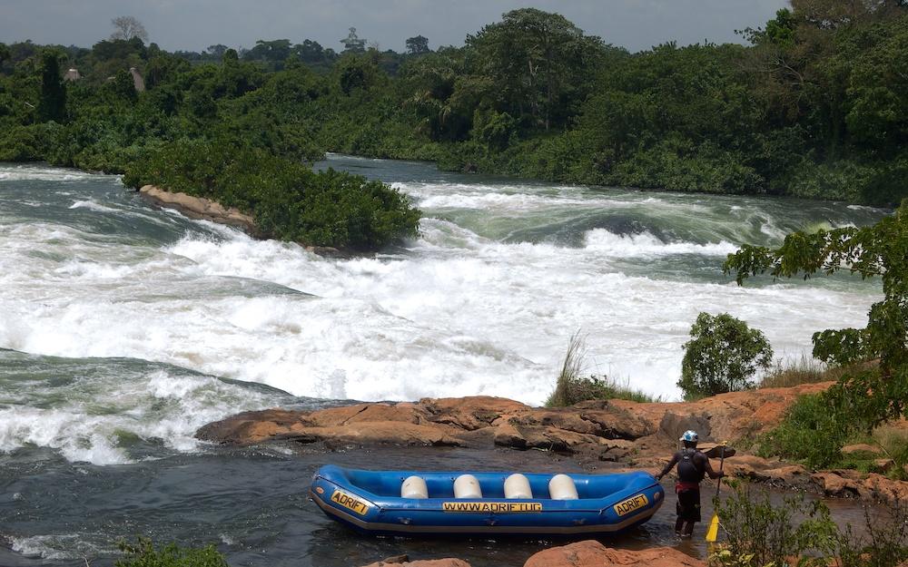 We had to walk around it;16x9;Africa;Nile;rafting;Travel;Uganda