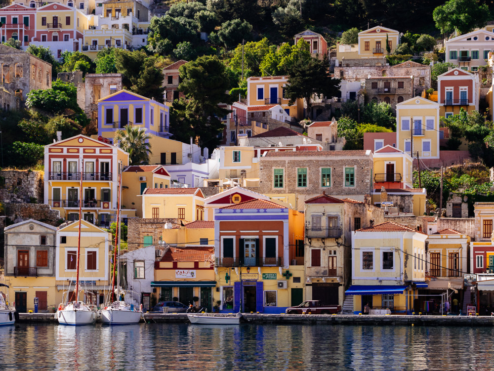Symi and Rhodos, Greece